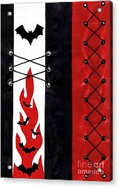 Bat Outa Hell Acrylic Print by Roseanne Jones