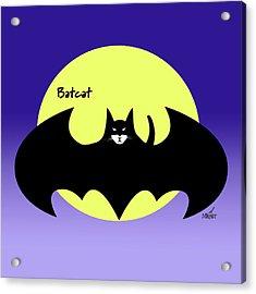 Batcat Acrylic Print