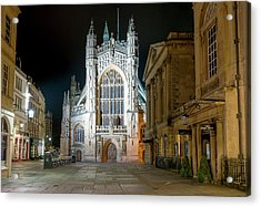 Bath Abbey Acrylic Print