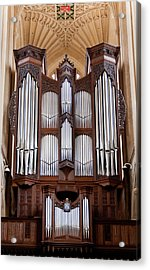 Bath Abbey Organ Acrylic Print