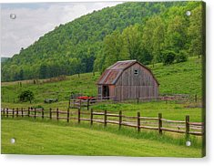 Acrylic Print featuring the photograph Bath Barn 0428a by Guy Whiteley