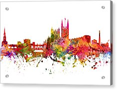 Bath Cityscape 08 Acrylic Print