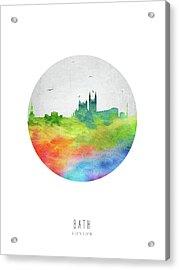 Bath Skyline Gbba20 Acrylic Print
