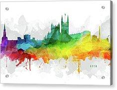 Bath Skyline Mmr-gbba05 Acrylic Print