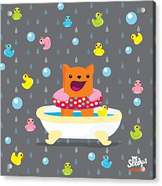 Bath Time  Acrylic Print by Seedys