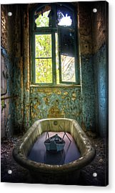 Acrylic Print featuring the digital art Bath Toy by Nathan Wright