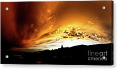 Bathing In The Light Of The Heavens Acrylic Print