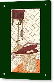 Bathroom Picture One Acrylic Print