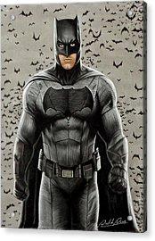 Batman Ben Affleck Acrylic Print