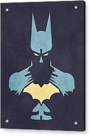 Batman Acrylic Print by Jason Longstreet