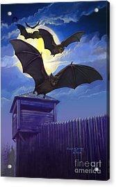 Batsfly Acrylic Print