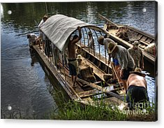 Batteau On The James River 2 Acrylic Print