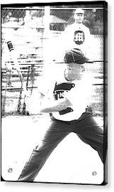 Batter Up  Acrylic Print by Steven  Digman