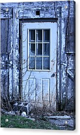 Battered   Acrylic Print by William Albanese Sr