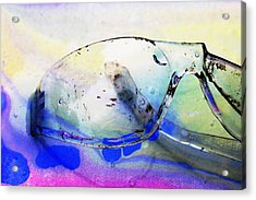 Battered Goggles Acrylic Print