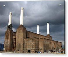 Battersea Power Station, London, Uk Acrylic Print by Johnny Greig