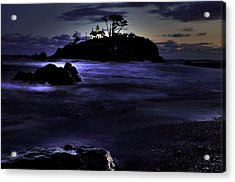 Battery Point 1 Acrylic Print by Peter Schumacher