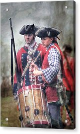 Battle Drums Acrylic Print by Randy Steele