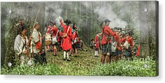 Battle For Empire French And Indian War Acrylic Print by Randy Steele