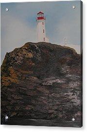 Battle Island Lighthouse Acrylic Print