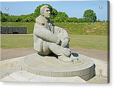 Battle Of Britain Memorial Acrylic Print by Chris Thaxter