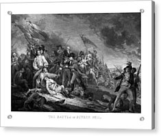 Battle Of Bunker Hill Acrylic Print by War Is Hell Store
