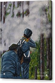 Battle Of Fort Dade Acrylic Print