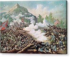 Battle Of Kenesaw Mountain Georgia 27th June 1864 Acrylic Print