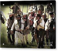 Battle Of San Jacinto Acrylic Print
