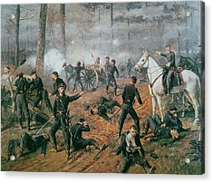 Battle Of Shiloh Acrylic Print by T C Lindsay