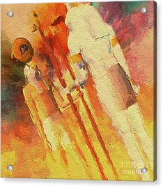 Battle Of The Gods, Horus And Seth By Mb Acrylic Print