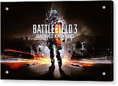 Battlefield 3 Back To Karkand Acrylic Print