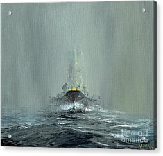 Battleship Yamato, 1945 Acrylic Print