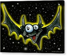 Batty Acrylic Print