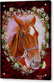 Acrylic Print featuring the painting Batuque by Quwatha Valentine