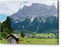 Bavarian Alps Landscape Acrylic Print by Carol Groenen