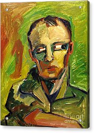 Bay Area Elmer Bischoff Acrylic Print by Charlie Spear