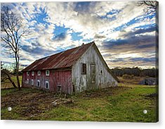 Bay Avenue Barn Acrylic Print
