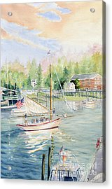 Bay Lady  Acrylic Print by Melly Terpening