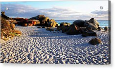 Bay Of Fires Sunrise Acrylic Print by Lexa Harpell