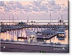 Bay Sunrise Acrylic Print