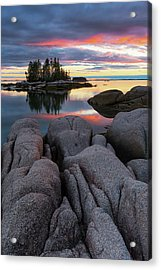 Acrylic Print featuring the photograph Bay View by Patrick Downey