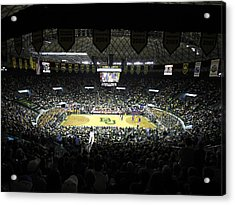 Baylor Bears Sellout Ferrell Center Acrylic Print by Replay Photos