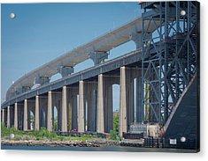 Bayonne Bridge Raising #5 Acrylic Print