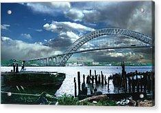 Bayonne Bridge Acrylic Print