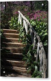 Bayou Bend Gardens Acrylic Print