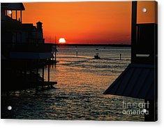 Bayou Vista Sunset Acrylic Print