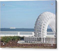 Bayshore Boulevard Sculpture Acrylic Print