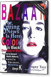 Bazaar Magazine Cover Acrylic Print
