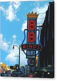 Bb Kings Acrylic Print